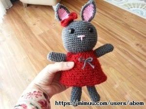 Örgü Oyuncak Tavşancık