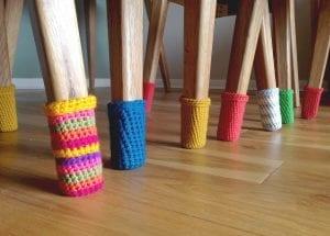 Tığ İşi Sandalye Çorabı Nasıl Örülür? 2