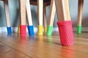 Tığ İşi Sandalye Çorabı Nasıl Örülür?