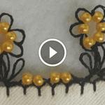 Videolu, Boncuklu İğne Oyası Yapılışı
