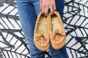 Örgü Ayakkabı Modeli ve Yapılışı, Videolu