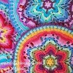 Yıldız Çiçeği Örgü Mandala Yapımı