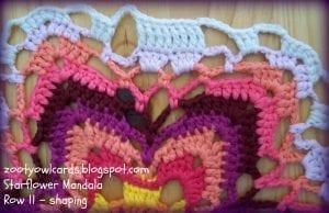 Yıldız Çiçeği Örgü Mandala Yapımı 16