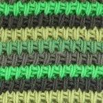 3 Renkli Örgü Modeli Yapılışı