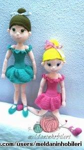 Amigurumi Balerin Kızlar