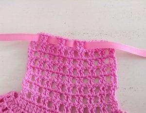 Amigurumi Bebek Elbisesi Yapılışı 8