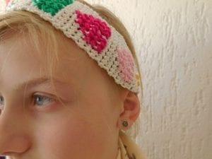 Bebek Saç Bandı Örgü Modelleri Yapılışı