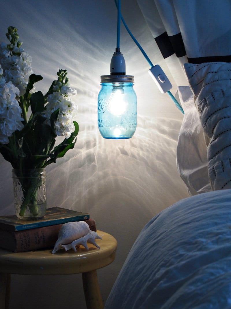 Cam Kavanozdan Gece Lambası Nasıl Yapılır