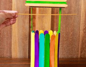 Dondurma Çubuklarından Kuyu Yapımı 12