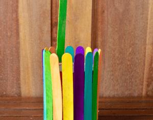 Dondurma Çubuklarından Kuyu Yapımı 15