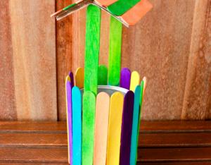 Dondurma Çubuklarından Kuyu Yapımı 17