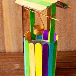 Dondurma Çubuklarından Kuyu Yapımı 3