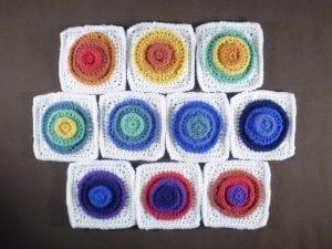 Halka Şeker Battaniye Yapımı 4