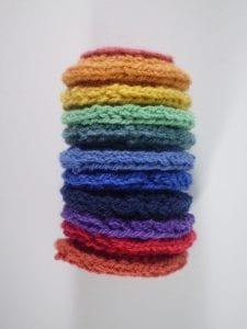 Halka Şeker Battaniye Yapımı 5