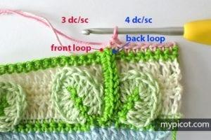 Kır Çiçekleri Örgü Modeli Battaniye Yapımı 15