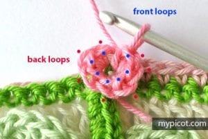Kır Çiçekleri Örgü Modeli Battaniye Yapımı 17