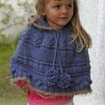 Örgü Bebek Panço Modelleri ve Örnekleri 102
