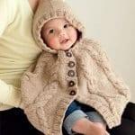 Örgü Bebek Panço Modelleri ve Örnekleri 120