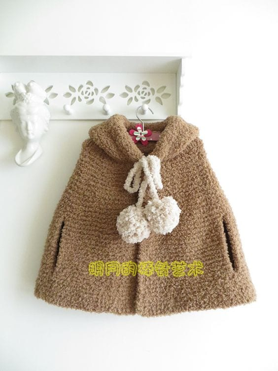 Örgü Bebek Panço Modelleri ve Örnekleri 123