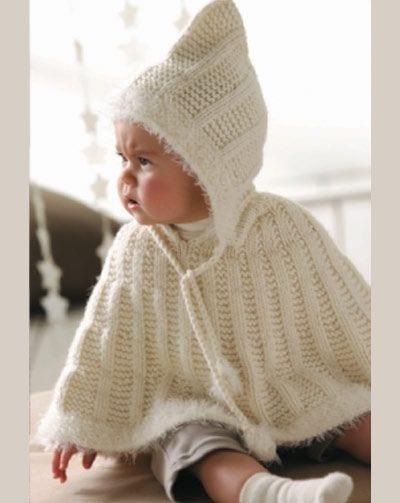 Örgü Bebek Panço Modelleri ve Örnekleri 134