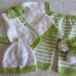 örgü bebek takımları ve giysi modelleri 5