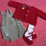 örgü bebek takımları ve modelleri 20