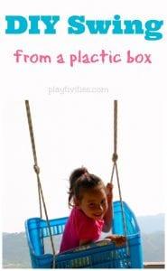 Plastik Kasadan Salıncak Nasıl Yapılır? 2