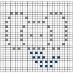 Popcorn Örgü Battaniye Şemaları 18