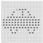 Popcorn Örgü Battaniye Şemaları 24