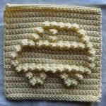 Popcorn Örgü Battaniye Şemaları 73