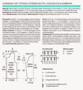 Tığ İşi Örgü Hırka Modeli Nasıl Yapılır? 12