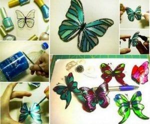Videolu, Plastik Şişeden Kelebek Yapımı 9
