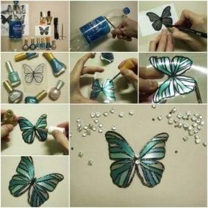 Videolu, Plastik Şişeden Kelebek Yapımı 10