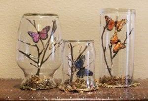 Videolu, Plastik Şişeden Kelebek Yapımı