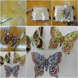 Videolu, Plastik Şişeden Kelebek Yapımı 3