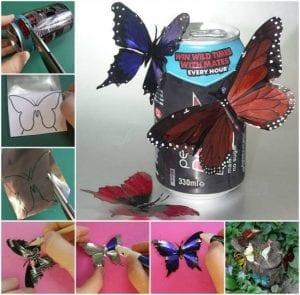 Videolu, Plastik Şişeden Kelebek Yapımı 4