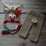 Yeni Doğan Örgü Bebek Kostümleri ve Giysileri 9