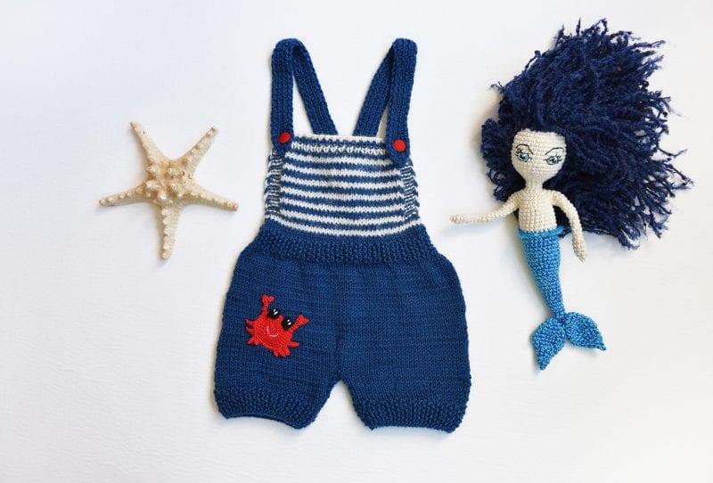 Yeni Doğan Örgü Bebek Kostümleri ve Giysileri 13