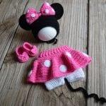 Yeni Doğan Örgü Bebek Kostümleri ve Giysileri 14