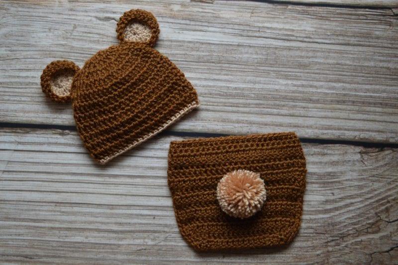 Yeni Doğan Örgü Bebek Kostümleri ve Giysileri 15