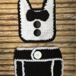 Yeni Doğan Örgü Bebek Kostümleri ve Giysileri 16