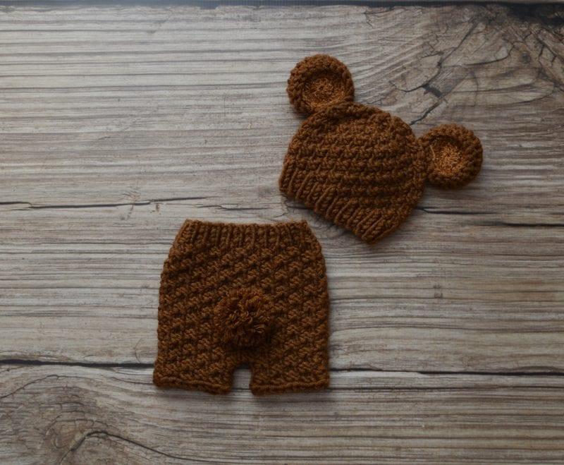 Yeni Doğan Örgü Bebek Kostümleri ve Giysileri 1