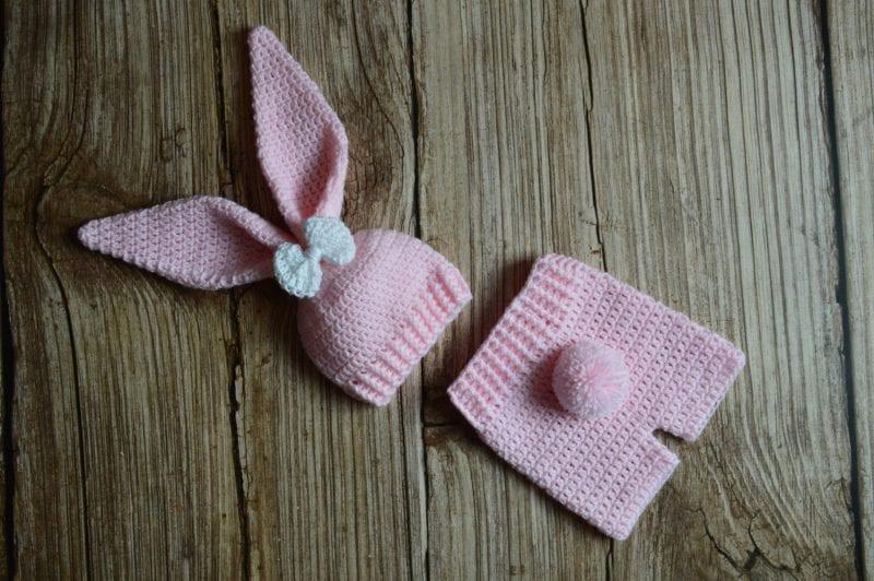 Yeni Doğan Örgü Bebek Kostümleri ve Giysileri 21