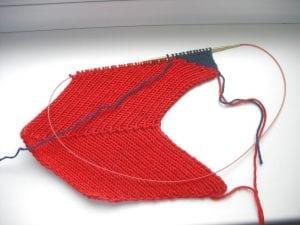 Zikzak Haroşa Örgü Şapka Yapımı 10