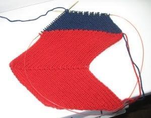 Zikzak Haroşa Örgü Şapka Yapımı 13