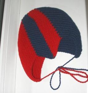 Zikzak Haroşa Örgü Şapka Yapımı 23