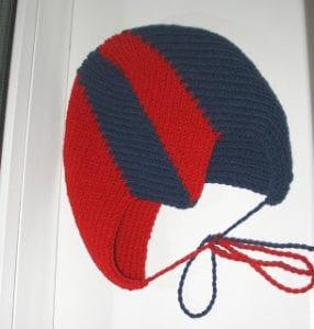 Zikzak Haroşa Örgü Şapka Yapımı 24