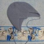 Zikzak Haroşa Örgü Şapka Yapımı 28
