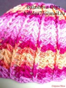 Bebek Örgü Şapka Yapılışı 19