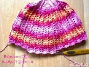 Bebek Örgü Şapka Yapılışı 20